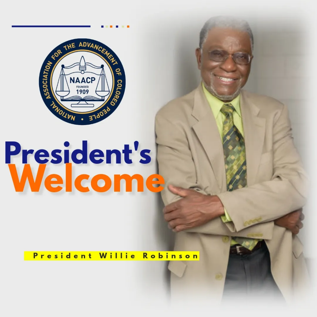 NAACP President's Welcome